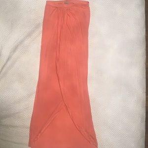 ASOS Size 0 maxi skirt with wrap detail